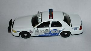 Hillsboro Texas TX Police Road Champs 2002 Ford Crown Victoria 1:43 Loose Model