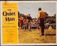 QUIET MAN - JOHN WAYNE VINTAGE LOBBY CARD - 1952 #6