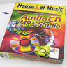 AUDIO-CD MP3 STUDIO HOUSE OF MUSIC WINDOWS 95 98 NT 4 PROGRAMM CD FORMAT BRENNER