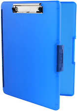 Dexas 3517-J2728 Slimcase 2 Storage Clipboard with Side Opening Royal Blue NEW