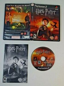 Harry Potter and the Goblet of Fire (Sony PlayStation 2, 2005) Comple TESTED