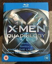 X-MEN QUADRILOGY -- X-MEN 1-4 QUADRILOGY   BLU-RAY All Regions A,B,C