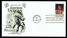 US 1364 American Indian Chief Joseph Nov 4, 1968 Fleetwood FDC F1364-1