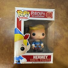 Funko Pop! Hermey #08 Rudolph the Red-Nosed Reindeer, Vaulted/Retired Box Damage