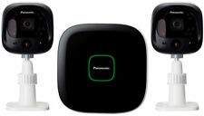 Panasonic Kx-hn6002azw Home Monitoring Kit Includes 2x Outdoor Camera and 1