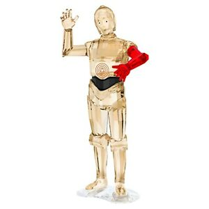 SWAROVSKI CRYSTAL STAR WARS C-3PO RED ARM 5290214 NEW