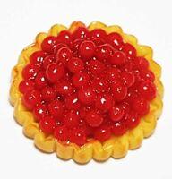 Dollhouse Miniature Fruit Pie * Doll Mini Tiny Sweet Food Cake Tart Bakery c6