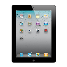 """Apple iPad 2 9.7"""" Wi-Fi Only Tablet 16GB 32GB 64GB Black and White A1395"""