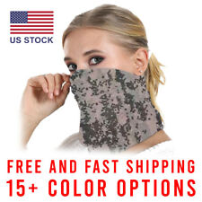 USA STOCK Face Mask Balaclava Neck Gaiter Biker Tube Bandana Fishing Face Mask