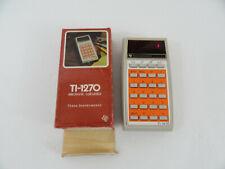 Vintage Texas Instruments Ti-1270 Electronic Calculator