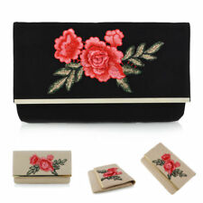 Embroidered Floral Evening Bags