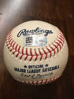 7/27/19 Dodgers@Nationals Justin Turner Double Game Used Ball Ross K Verdugo