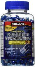 Kirkland Signature Extra Strength Rapid Release Acetaminophen PM 500 mg
