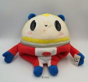"Persona 4 Teddy B1902A Kuma Atlus Taito Zipper Bag Pouch 9"" Plush Toy Doll Japan"