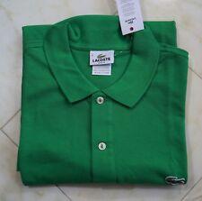LACOSTE MEN'S 100% Cotton SLIM FIT POLO SHIRT Size 8/3XL
