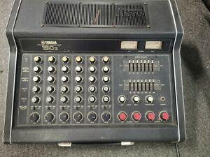 Yamaha EM-150 II 1970s Black Tolex Vintage Powered Mixing Console