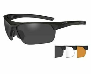 Wiley X 4006 Guard Advanced Glasses 3 Interchangeable Lenses