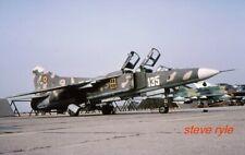 "MILITARY AIRCRAFT SLIDE - MIG-23UB ROMANIAN AF ""135"" - 2001"