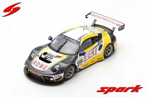 "Spark 1:18 18SB013 2019 Porsche 911 GT3 R ""ROWE"" 24h Spa #998 - NEU!"
