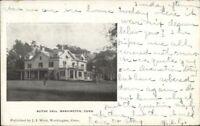 Washington CT Blithe Hall c1910 Postcard