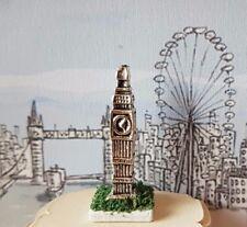 BIG Ben Ornamento statua 1:12th scala casa delle bambole miniatura London Viaggio