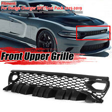 For Dodge Charger SRT Scat Pack 2015-19 Upper Grille with Bezels Dual Inlets