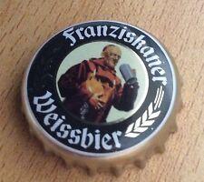 Frabziskaner weissbier beer bottle cap bottle top pin badge, new