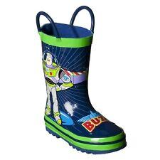 Toddler Disney Toy Story Rain Boots Blue Green Buzz Lightyear Boy Girl 5 Toddler