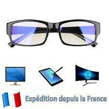 Lunettes Anti Lumière Bleue Anti-Rayonement Protection des Yeux Pc Tv