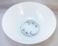 Vtg Mid Century Anchor Hocking Oven Proof Dinnerware Silver Wheat Bowl,4 1/2""