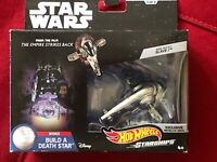 Boba Fett SLAVE 1 Star Wars Hot Wheels Starships Commemorative Set Ships FAST