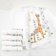 New Baby Infant Newborn Washcloth Bath Towel Bathing Feeding Wipe Cloth