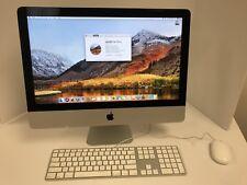 "Apple 2012 21.5"" iMac Quad Core i5 2.7Ghz 750GB 8GB A1418 MD093LL/A"