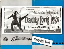 DADDY LONG LEGS pressbook, Fred Astaire, Leslie Caron, Terry Moore Thelma Ritter