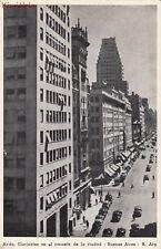 Postcard Avda Corrients en El Corazon de la Ciudad Buenos Aires Argentina