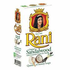 Rani Sandalwood Soap with Coconut Cream and Vanilla Ayurveda Natural Sri Lanka