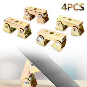 4Pcs V-Type Adjustable Magnetic Welding Clamps Suspender Fixture Holder Tool