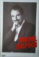 AFFICHE POSTER ORIGINAL MICHEL DELPECH VERS 1975