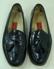 Cole Haan Mens Black Leather Shoes Tassel Loafer Casual 9.5