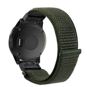 Lightweight Nylon Sport Breathable Wristband Strap for Garmin Fenix 5X/Fenix 5