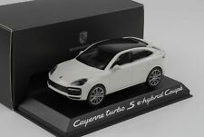 Porsche Cayenne Turbo S Coupe e-hybrid Carrara weiss 2019 1:43 Norev WAP Dealer