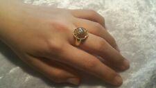 bague ancienne années 40 en or 18 carats et diamant