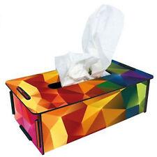 Werkhaus Tissue Box Prisma bunt Kosmetiktücher Spender Taschentuchbox NEU #1787