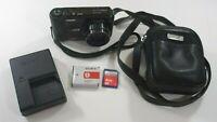 Sony Cyber-shot DSC-HX7V 16.2MP Digital Camera - Black - GPS