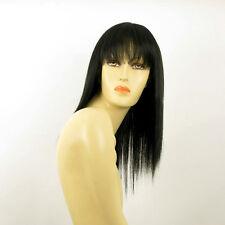 Perruque femme mi longue noir ABBY 1B