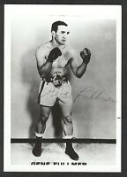 Gene Fullmer {1931-2015} Signed Boxing Photo, World Champion, COA