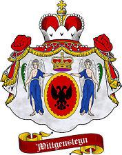 Adelstitel =GRAF von WITTGENSTEYN= & Wappenrecht