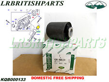 GENUINE LAND ROVER FRONT DIFFERENTIAL BRACKET BUSHING  SPORT LR3 LR4 KQB000133