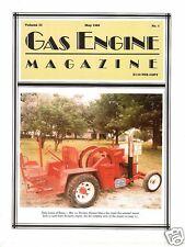 OHIO Tractor, Lanz Bulldog, Cavanaugh Darley Engine, Gas Engine Magazine