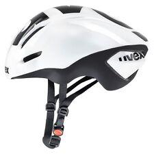 uvex EDAERO aero road cycling helmet white black mat 57-59